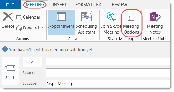 Ways to customize the settings of your Skype for Business