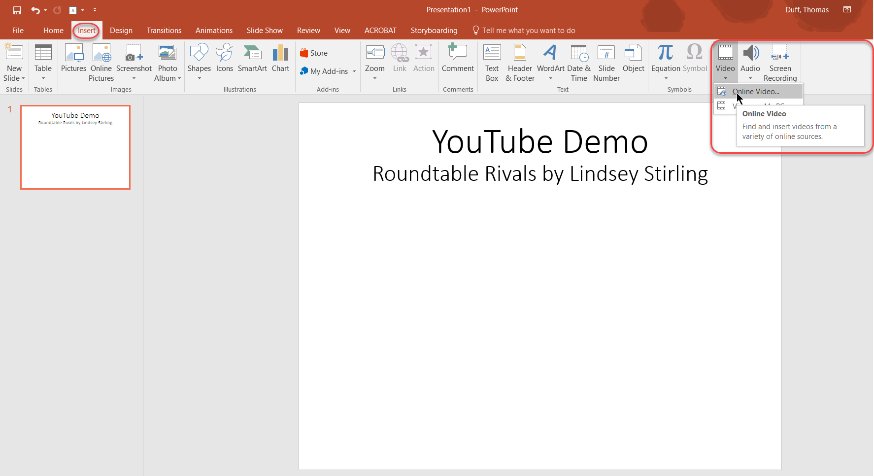 How to powerpoint insert music