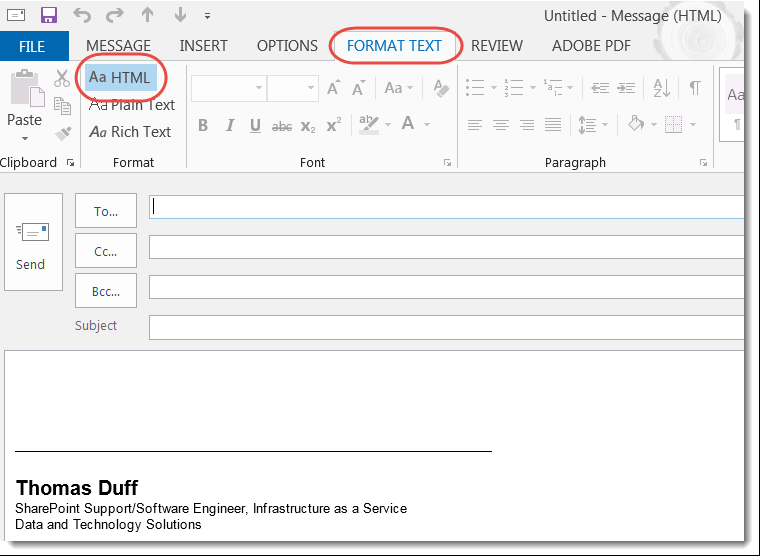 how to read all emails at one outlook